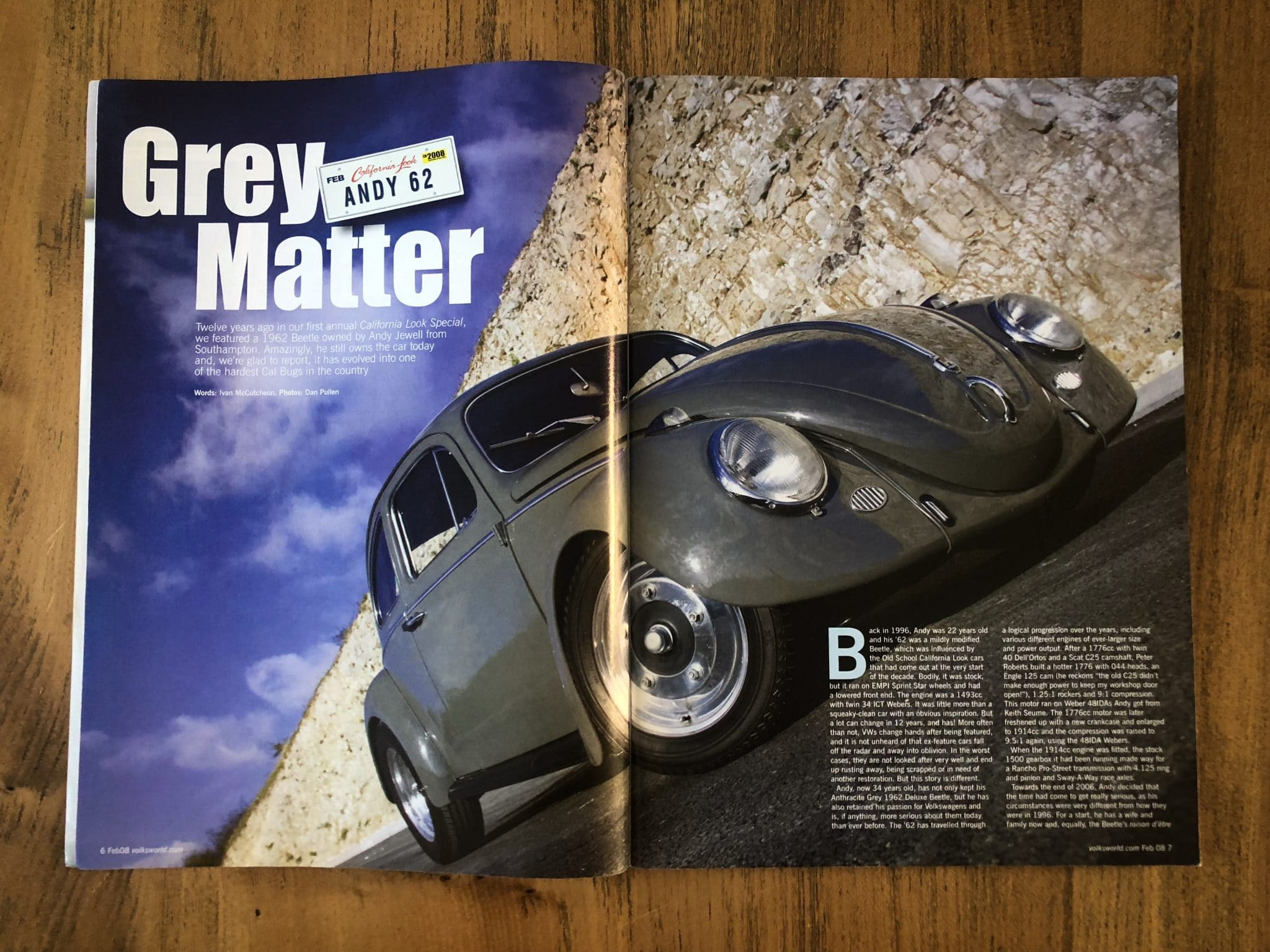 'Grey Matter' 1962 VW Beetle - Andy Jewell